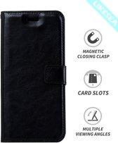 Huawei P9 lite Portemonnee hoesje - Zwart