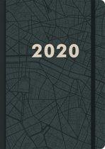 Kraft Agenda - 2020 - A4 - Groot(29,7x21cm) - elastiek - D1