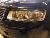 Dynamik Koplampspoilers Audi A4 2001-2004 (ABS)