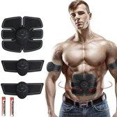 Gym4Life EMS Buikspiertrainer - Incl. 2x AAA Batterijen - Unisex