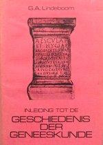 Inleiding tot de Geschiedenis der Geneeskunde