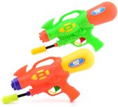 Aqua fun Waterpistool super shooter 30 cm groen