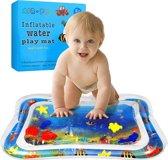 Baby Opblaasbare Waterspeelmat - Hoge Kwaliteit - Baby Trainer - Water Speelmat - Baby shower - Kraamcadeau - Water speel mat - Tummy time - Speelkleed Aquamat - Speelgoed - watermat - Baby-Boo