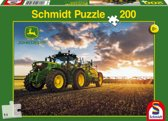 Tractor 6150 R with Slurry Tanker, 200 pcs - Kinderpuzzel