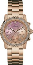 GUESS Watches -  W0774L3 -  Horloge -  Vrouwen -  RVS - Rosékleurig -  38  mm