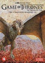 DVD cover van Game Of Thrones - Seizoen 1 t/m 6