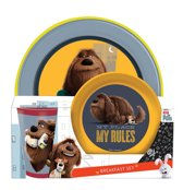 The Secret Life of Pets - Ontbijtset 3 delig - Multi colour