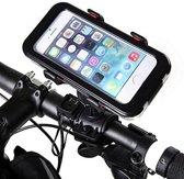 Telefoonhouder voor fiets - Smartphone houder - Bike holder - fietshouder telefoon - fietsholder -   360 graden rotatie - iPhone, Samsung , Sony & HTC. - Kleur : WIT - Rheme