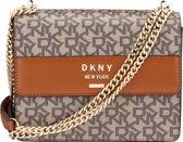 DKNY Ava Dames Schoudertas - Caramel