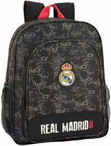 Real Madrid Rood Detail - Junior Rugzak - 38 cm - Multi