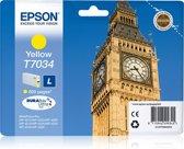 Epson T7034 - Inktcartridge / Geel