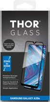 THOR Full Screenprotector + Apply Frame voor de Samsung Galaxy A20e - Zwart