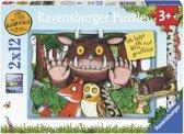 Ravensburger The Gruffalo - Twee puzzels van 12 stukjes - kinderpuzzel