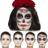 Day of the Dead Glamour Make-Up Kit with