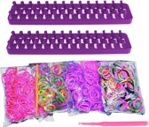 Loom Twister Loombands Fun Loom 2000-delig Paars