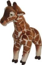 Nicotoy Staande Giraf - Knuffel - 35 cm