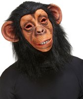 """""""Apen masker voor volwassenen  - Verkleedmasker - One size"""""""
