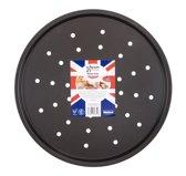 Wham Essentials Pizzavorm - Met Gaatjes - 33 cm
