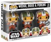 STAR WARS - Bobble Head POP 3-Pack -  Pilots