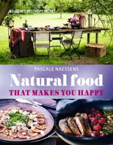 Boek cover Natural food van Pascale Naessens