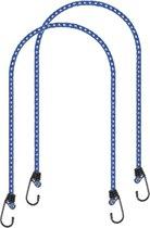 Proplus Bagagebinders 8 Mm Blauw 80 Cm 2 Stuks