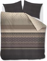 Beddinghouse Linear Leaf - Dekbedovertrek - Lits-jumeaux - 240x200/220 cm - Zand