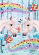 Poster Unicorns - Poster Eenhoorn