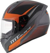 HELM MT STINGER DIVIDED ORANJE L Scooter & Motor