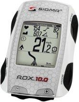 Sigma Rox 10.0 GPS - Fietscomputer - Exclusief sensoren - Wit