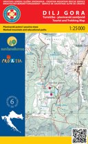 Wandelkaart Dilj Gora Kroatie (6)