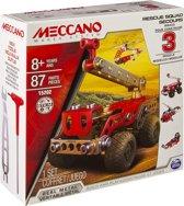 Meccano Brandweerwagen - 3 Modellen