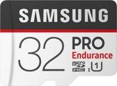 Samsung Pro Endurance Micro SDHC 32GB met Adapter - MB-MJ32G