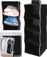 Hangorganizer 4 vakken - ideaal voor elke kledingkast