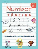Number Tracing Preschool Practice Workbook
