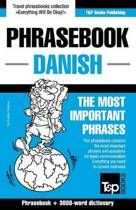 English-Danish Phrasebook and 3000-Word Topical Vocabulary