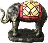 Arcade AL0059 - Olifant - Tiffany lamp