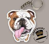 Sleutelhanger Hond Bulldog