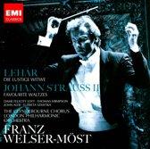 Lehar: Die lustige Witwe; Johann Strauss II: Favorite Waltzes