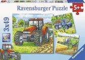 Ravensburger Grote landbouwmachine puzzels