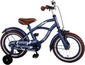 Yipeeh Blue Cruiser - Jongensfiets - 14 inch - Blauw