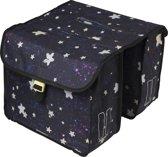 Basil Stardust Double Bag Fietstas kinderen - Nightshade