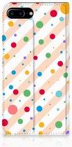 Apple iPhone 7 Plus | 8 Plus Standcase Hoesje Design Dots