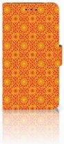 Nokia 2 Boekhoesje Design Batik Orange