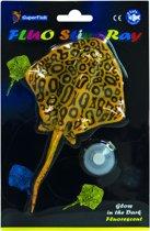 Superfish Fluo Stingray 20x13x2.5 cm Geel