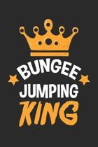 Bungee Jumping Kings: Extremsport Junkie Notizbuch liniert DIN A5 - 120 Seiten f�r Notizen, Zeichnungen, Formeln - Organizer Schreibheft Pla