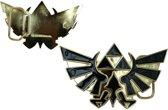 Nintendo Zelda gouden logo gesp