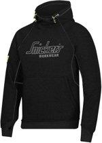 Snickers Workwear Veiligheidskleding Sweatshirt Hoodie Zwart  2815-0400 XL