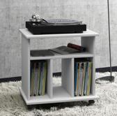 LP vinyl kast platenspeler meubel Retal (wit)