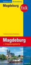 Falk Stadtplan Extra Standardfaltung Magdeburg 1 : 20 000