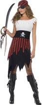 Piraten kostuum voor vrouwen  - Verkleedkleding - Large